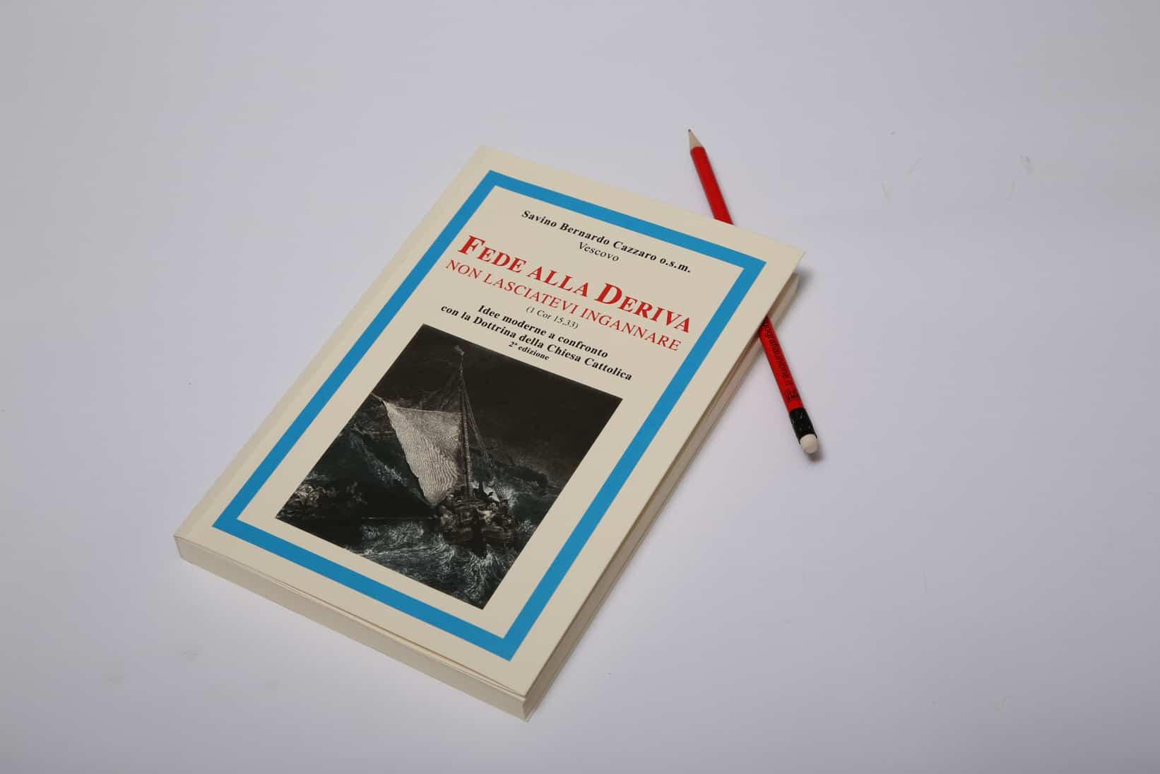 Fede alla Deriva, copertina del libro. Settore editoria.