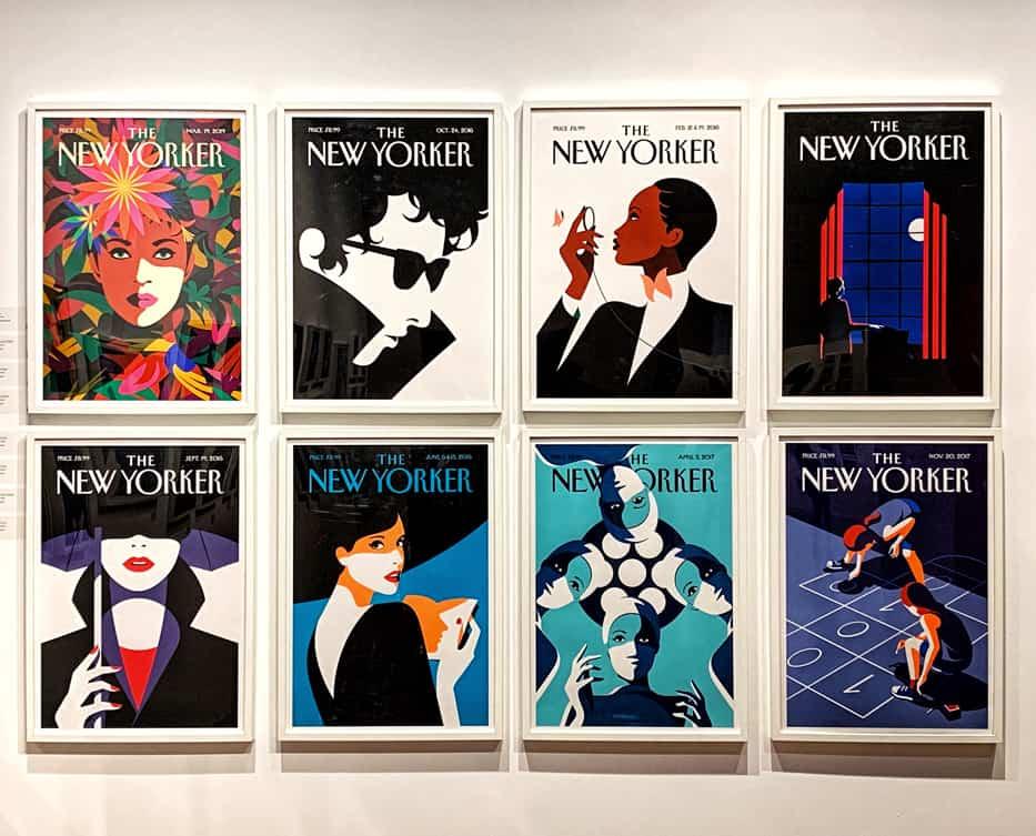 Malika Favre, The New Yorker, Illustrissima 2019. Tipografia Unione visita Illustri Festival.