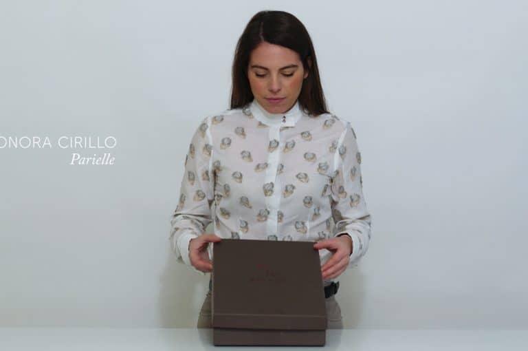 Packaging per camice e coordinati. Parielle di Eleonora Cirillo. Tipografia Unione, Vicenza.