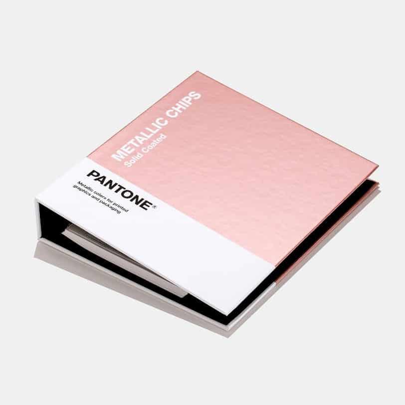Pantone, catalogo dei colori metallici per la stampa e il packaging. Tipografia Unione, Vicenza